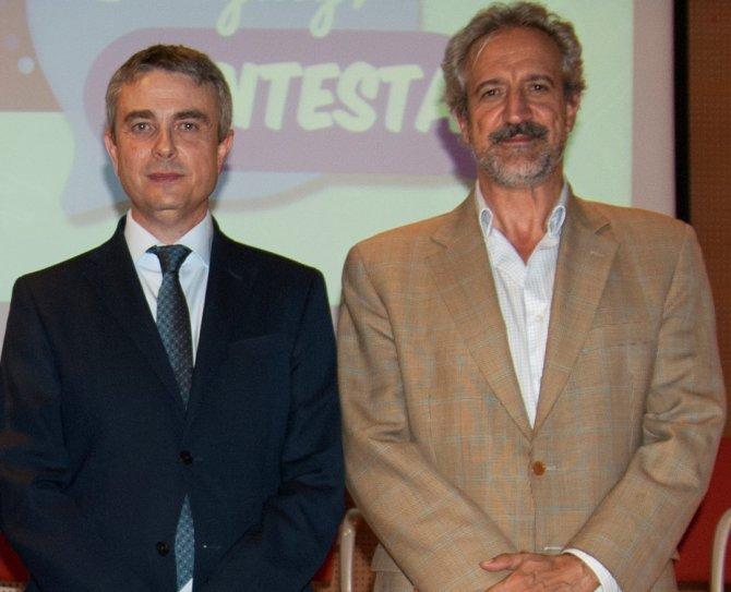 Miguel Angel Casas y Pedro Ugarte