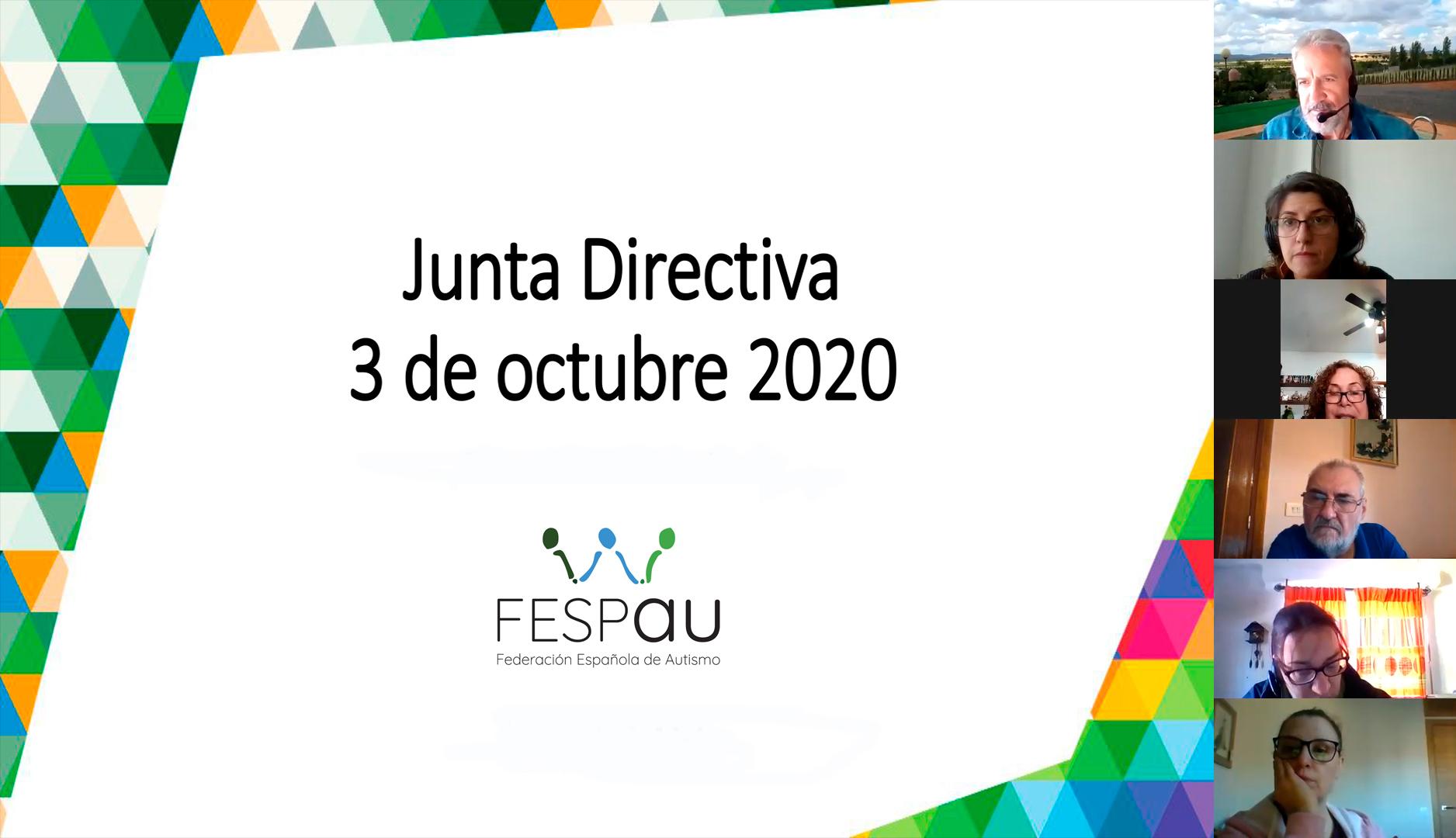 Junta Directiva 3/10/20