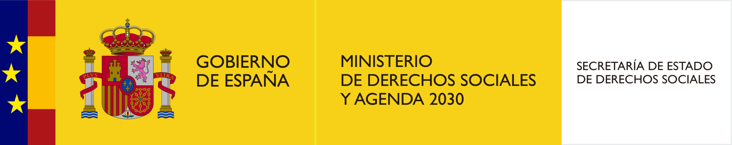 Logo Ministerio de Derechos Sociales y Agenda 2030